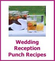 cheap wedding reception punch recipes