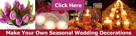 make your own wedding decorations