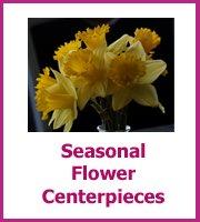 inexpensive seasonal flower centerpieces