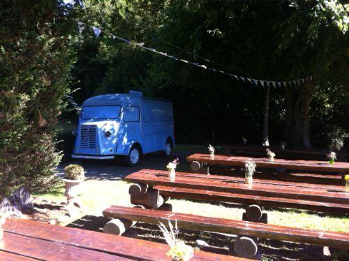small outdoor wedding venue
