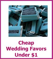 wedding favors unfer $1