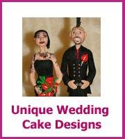unique wedding cake designs