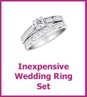 wedding set ring size