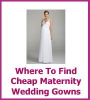 where to find cheap maternity wedding dresses