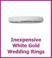 white gold wedding ring size