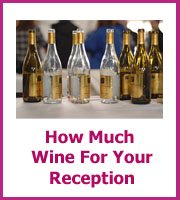 how much wine for your wedding reception